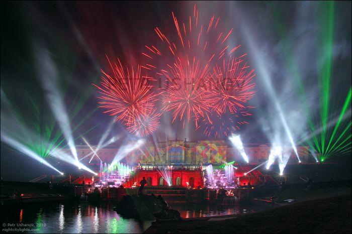 Петергоф - Праздник фонтанов 2010
