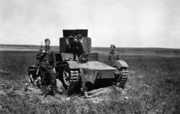 Фотографии второй мировой войны из