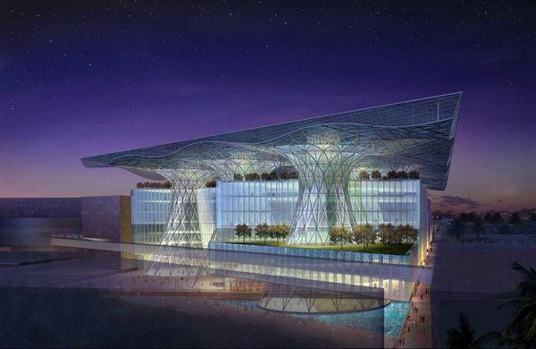 Masdar - город будущего (8 фото)