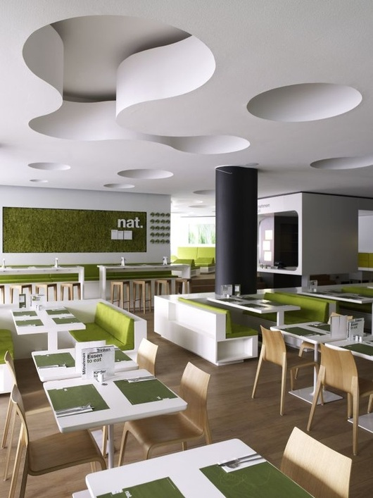 Био-кафе в Германии (13 фото)