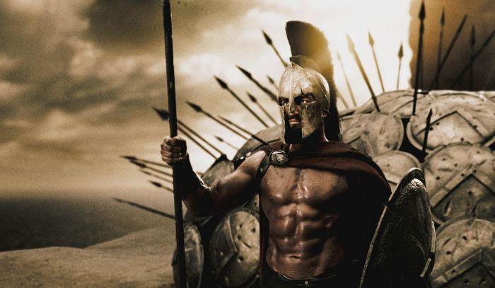 Стал царем Леонидом из фильма 300 спартанцев (11 фото)