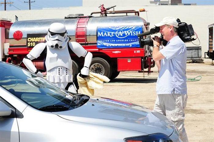 star wars car wash dart wader var was Автомивка с култови персонажи от междузвздни войни (39 photos)