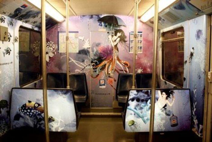 Подводный мир амстердамского метро (11 фото)