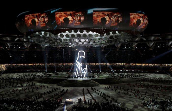 Красивые фотографии с церемонии открытия игр Содружества (19 фото)