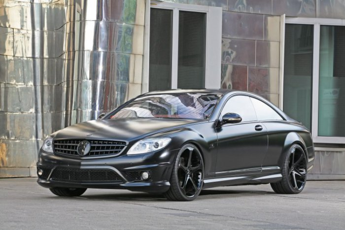 Mercedes CL65 AMG Black Edition (9 фото)
