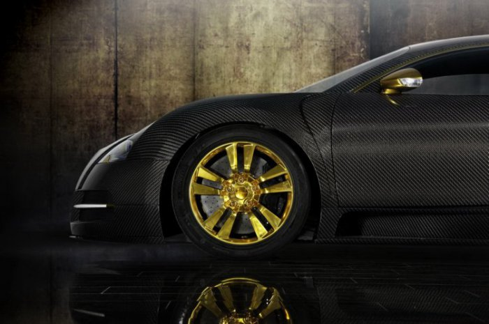 Bugatti Veyron LINEA Vincero d'Oro (16 фото)