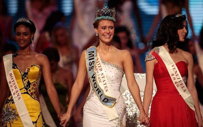 Обладательница титула Мисс Мира 2010