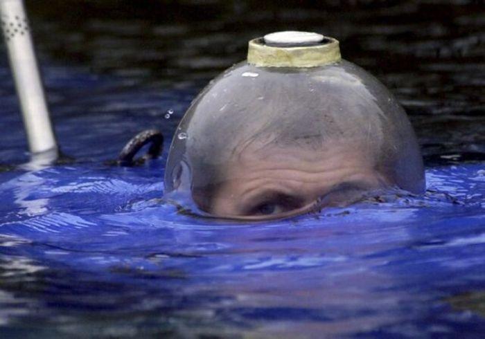 Единственная личная подводная лодка в России (29 фото)