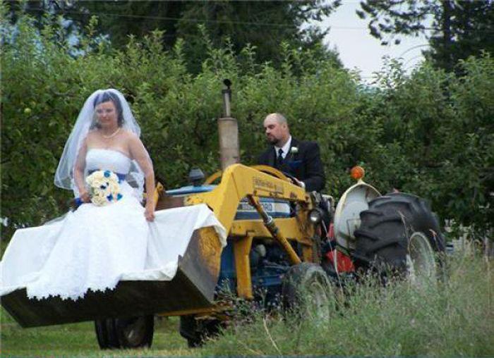 Забавные свадебные фотографии (72 фото)