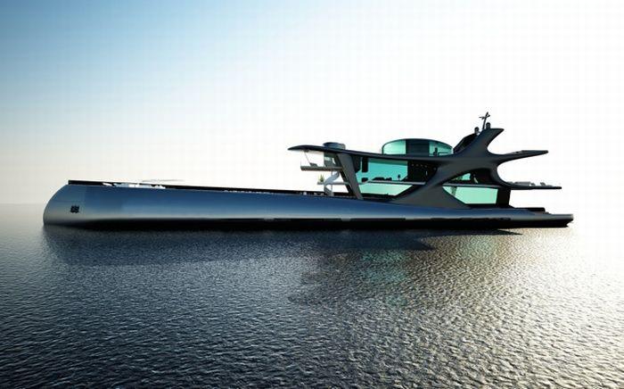 Яхта Белуга за 200 миллионов евро (14 фото)