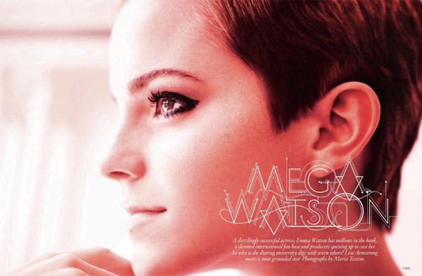 Эмма Уотсон в Vogue UK (7 фото)