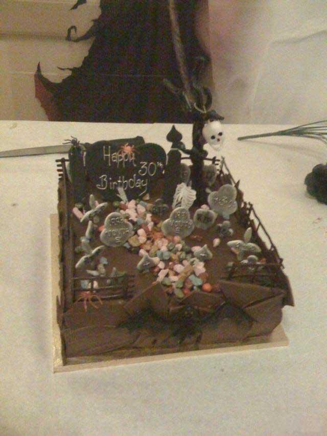 Жуткие тортики