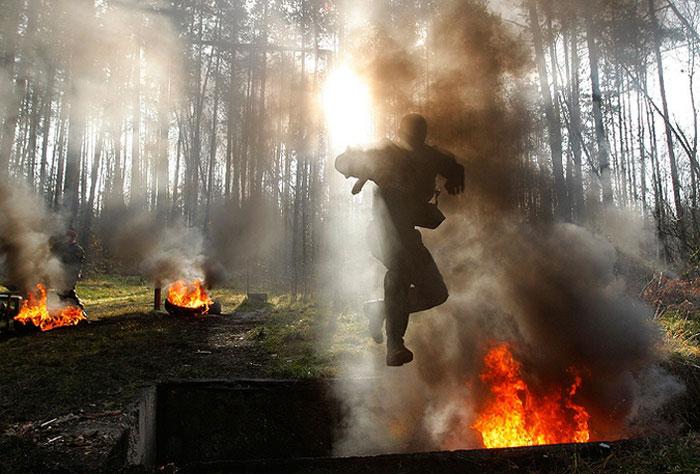 Белорусский спецназ (7 фото)