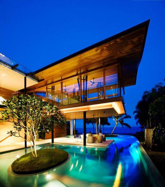 Тропический дом в Сингапуре (19 фото)
