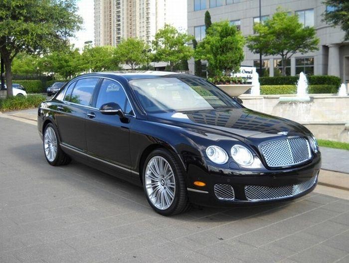 Развод салона Bentley на автомобили