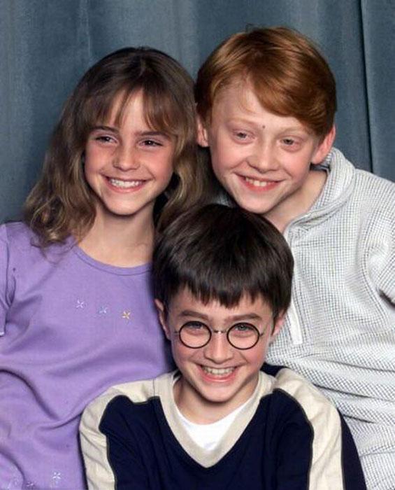 Герои фильма Гарри Поттера повзрослели (43 фото)