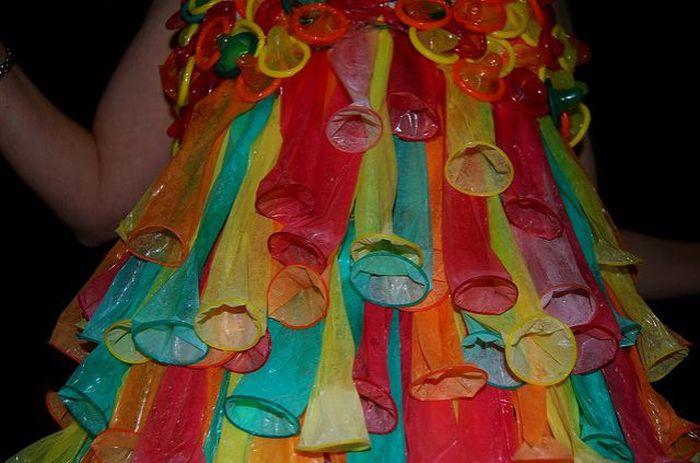 Платья необычные своими руками