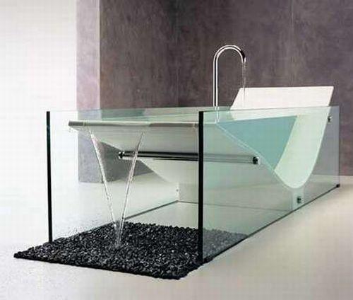 Необычные и креативные ванны (21 фото)