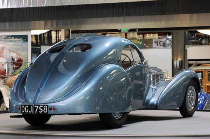 Bugatti Type 57SC Atlantic за 38 миллионов долларов
