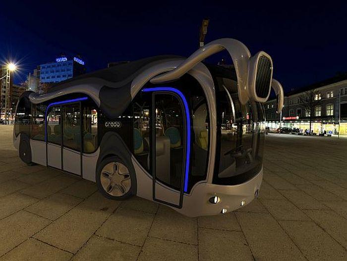 Автобус из будущего под названием Credo E-Bone