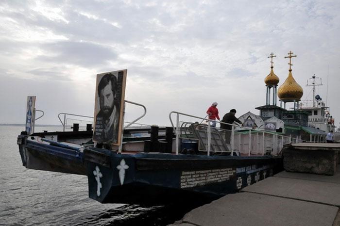 Уникальные плавучие храмы Волгоградской области