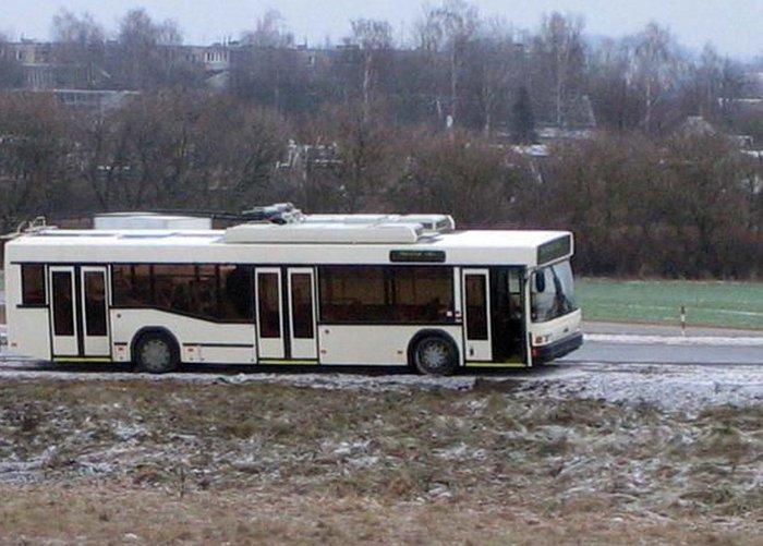 Челябинские троллейбусы настолько суровы...