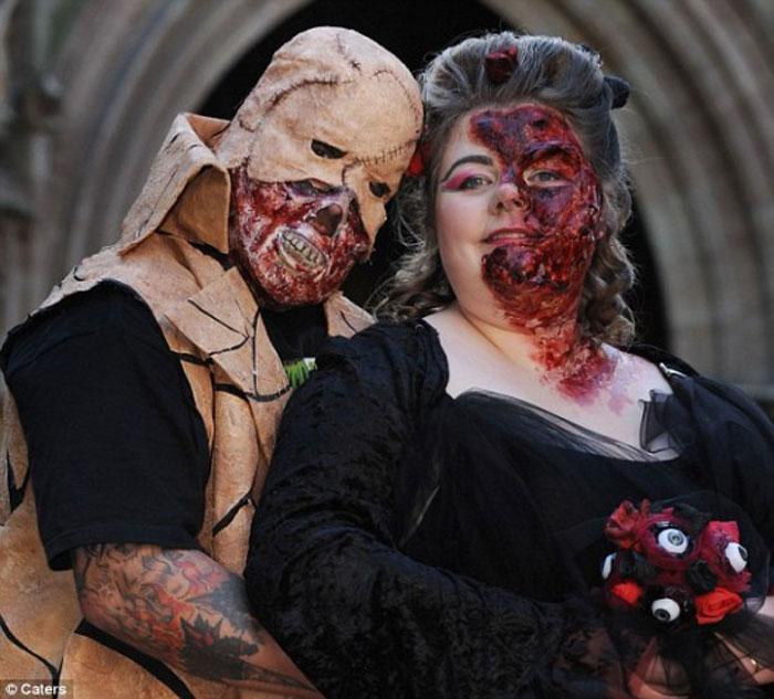 Зомби-свадьба! (6 фото)