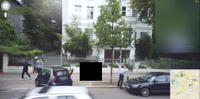 Роды прямо на улице в Берлине?
