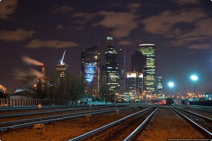 Ночная Москва (9 фото)