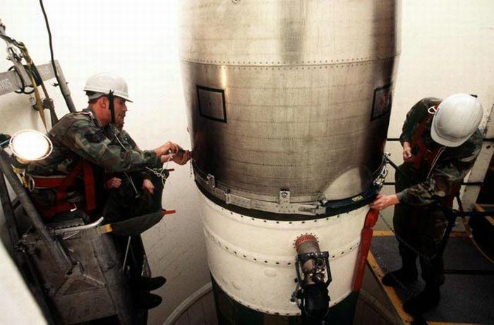 Фотографии пусковой шахты ядерных ракет (45 фото)