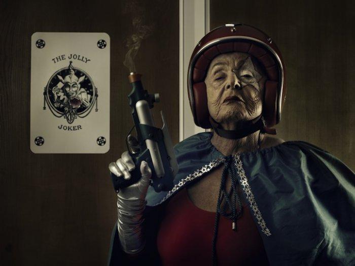Бабушка Супергерой!