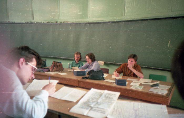 Студенты в середине 90х годов