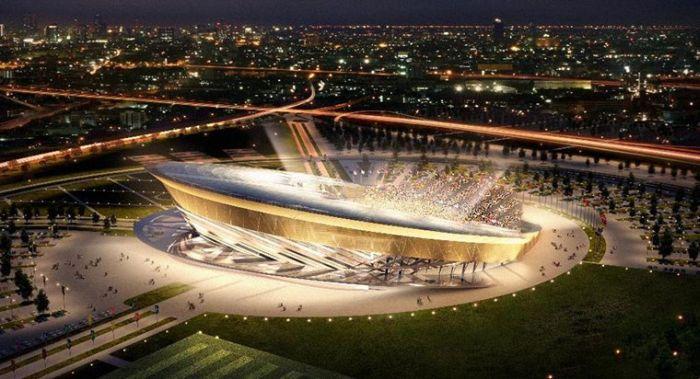 Проекты стадионов для чемпионата Мира по футболу 2018 года (16 фото)
