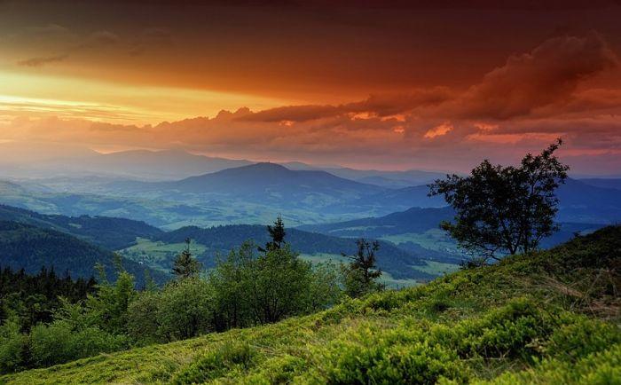 Как сделать красивое пейзажа