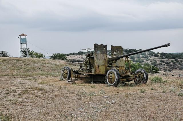 Заброшенная военная часть в Крыму