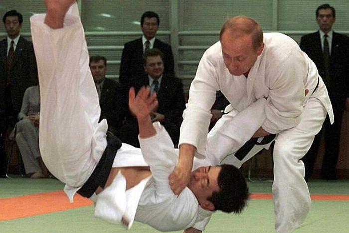 Владимир Путин и его любимые виды спорта (18 фото)