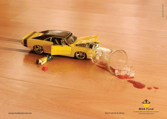 Отличная реклама о последствиях нетрезвого вождения