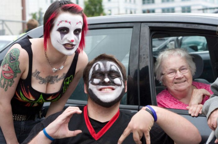 Ежегодный фестиваль Juggalo Woodstock