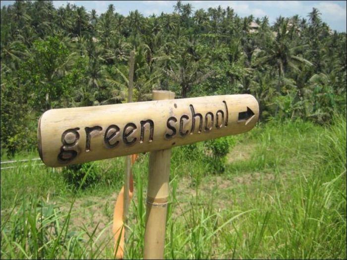 Уникальная школа на Бали (44 фото)