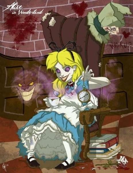 Необычные принцессы диснея