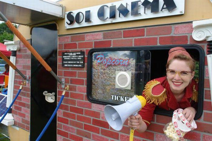 Мини-кинотеатр (25 фото)