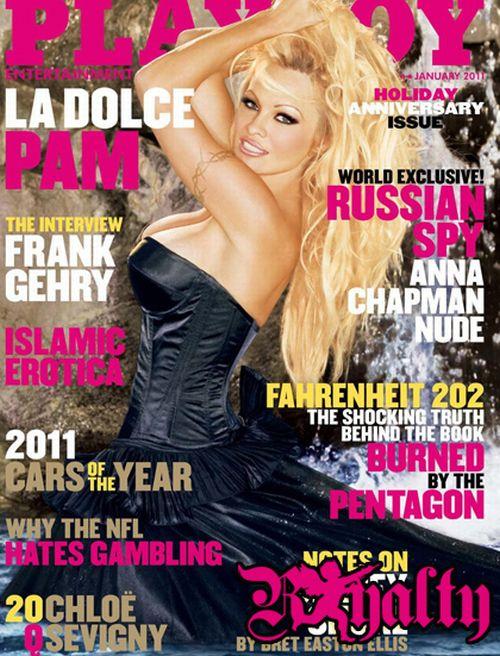 Памела Андерсон на обложке журнала Playboy (8 фото) НЮ