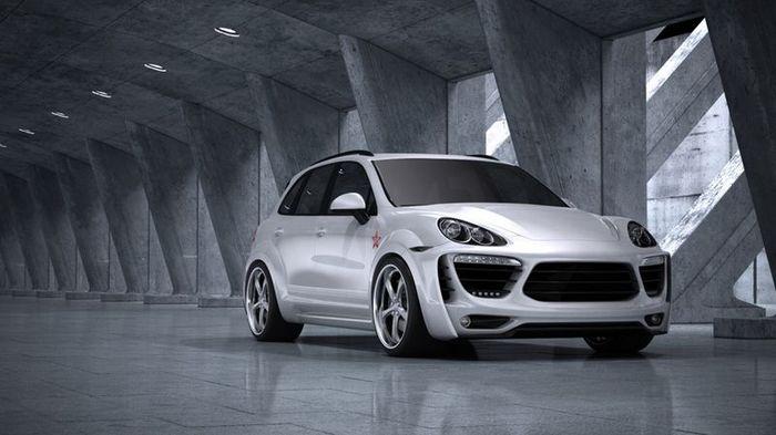 Porsche Cayenne от Met-r