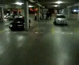 Разборка на парковке