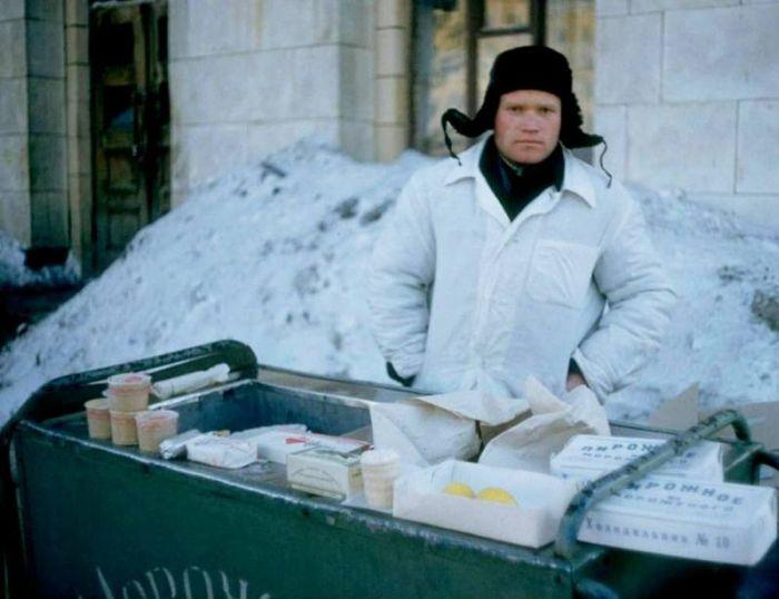 Зимние фотографии из СССР