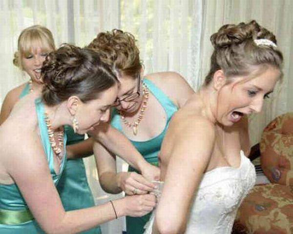Смешные снимки со свадеб