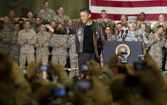 Необъявленный визит Обамы в Афганистан
