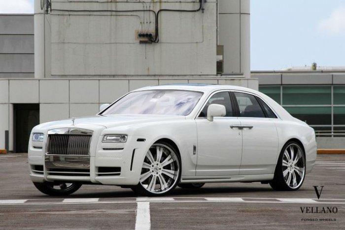 Rolls-Royce Ghost от Mansory