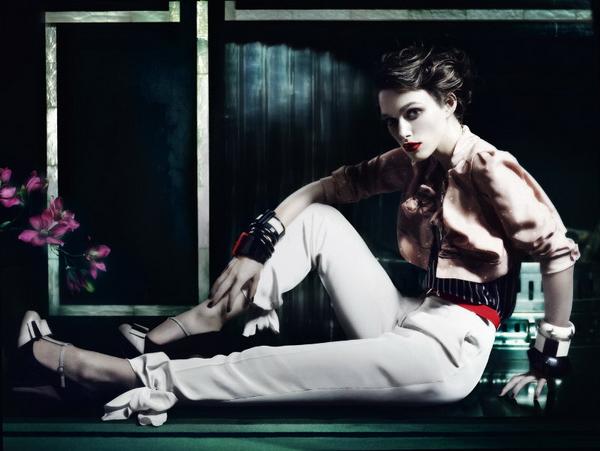 Кира Найтли для Vogue UK