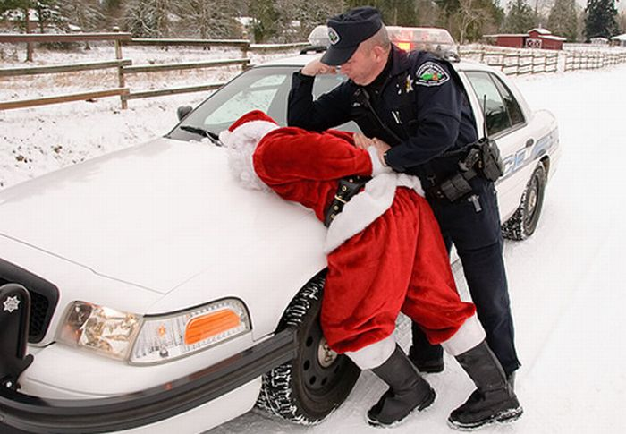 Аресты Санта Клаусов